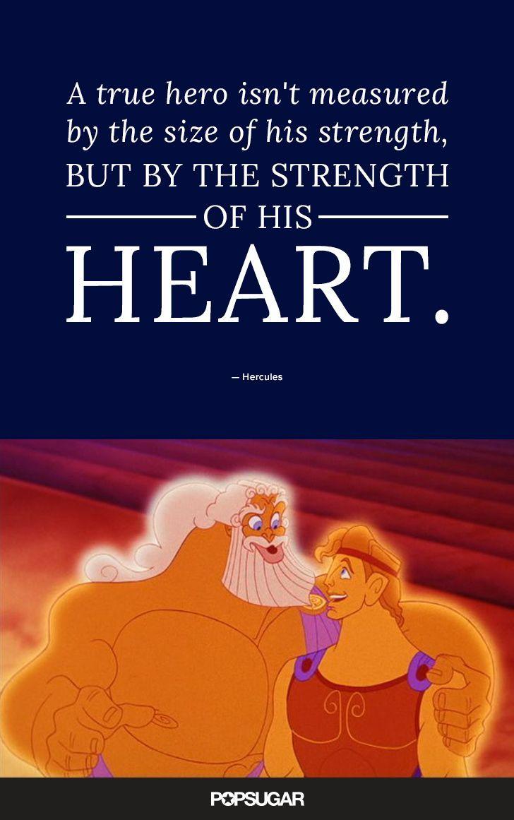 Love this Hercules quote Hercules QuotesHercules TattooDisney MoviesDisney