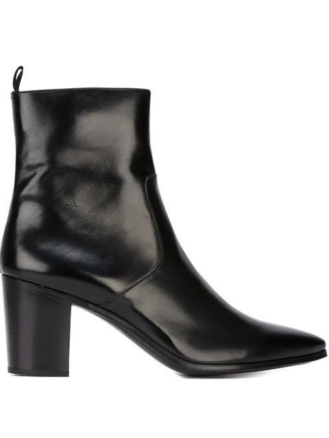 7d3ebf7f341 Shop Saint Laurent 'French 85' boots in Spazio Pritelli from the world's  best independent boutiques at farfetch.com. Shop 300 boutiques at one  address.