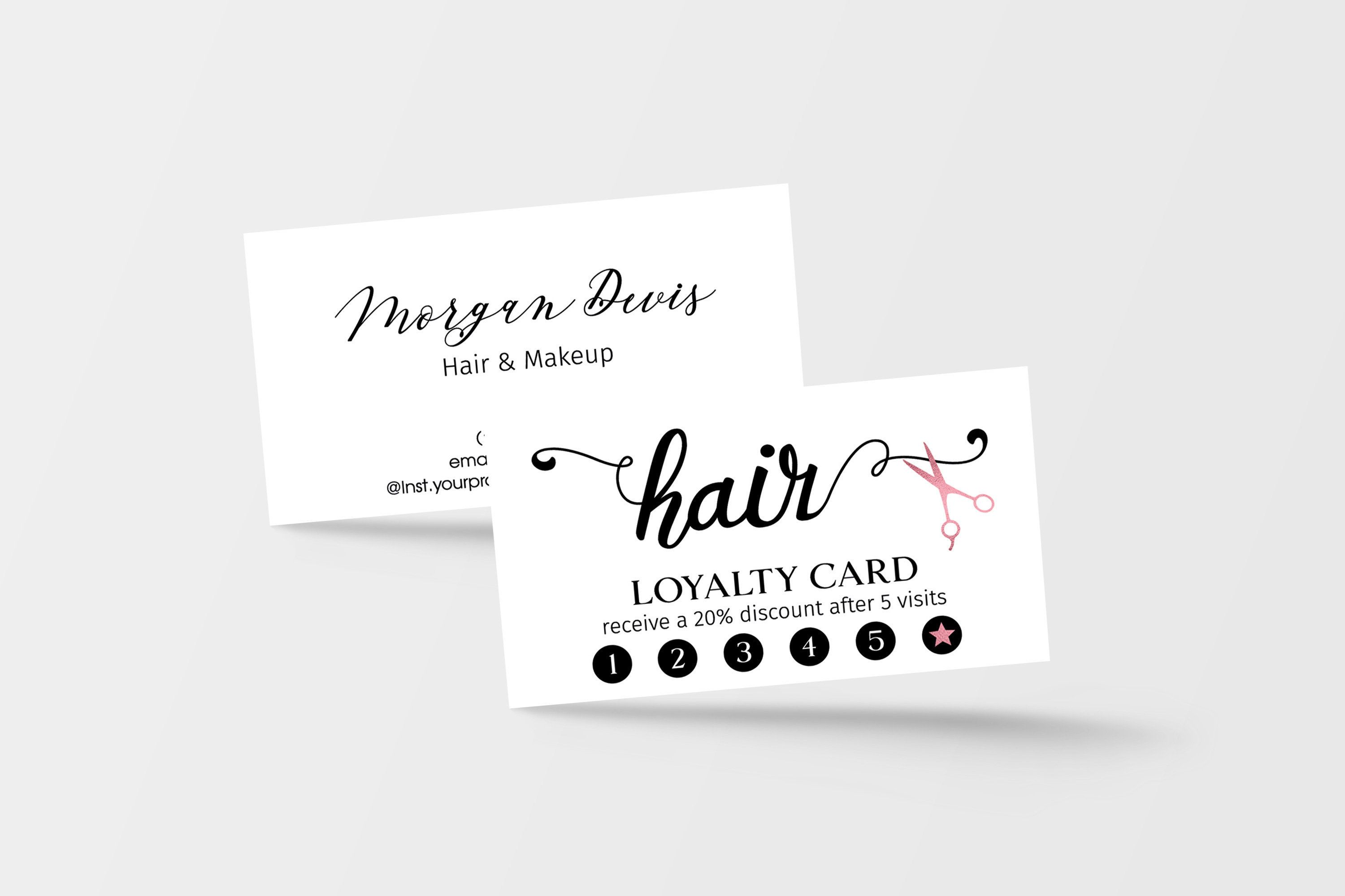This Item Is Unavailable Etsy Loyalty Card Design Loyalty Card Template Loyalty Card