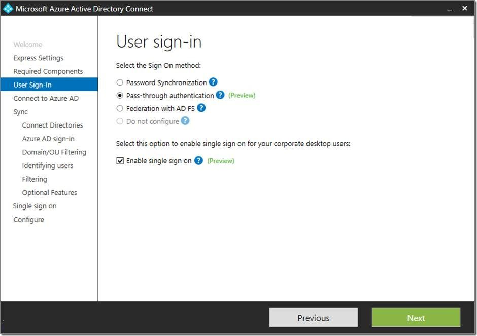 Introducing Azuread Pass Through Authentication And Seamless Single Sign On Http Www Managedsolution Com P 13219 Azure Data Enterprise Microsoft Ads