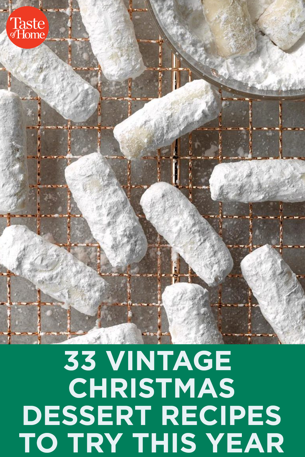 33 Vintage Christmas Dessert Recipes to Try This Year