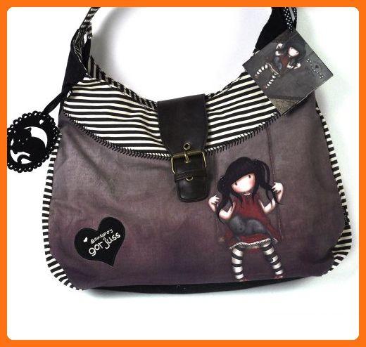 Santoro London Gorjuss Slouchy Bag Ruby Handbag Crossbody Shoulder Bags Partner Link