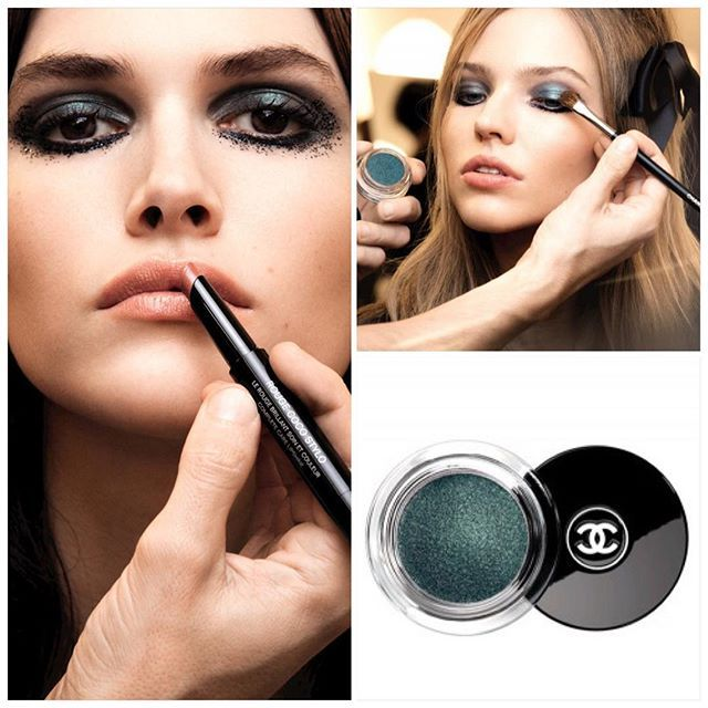 Chanel Spring 2016 - new Coco Rouge Coco Stylo and cream eyeshadows