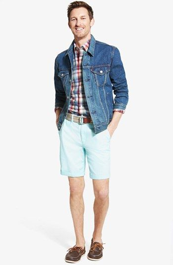 df00dd0bbb64 Levi s® Denim Jacket   Bonobos Washed Cotton Chino Shorts available at   Nordstrom