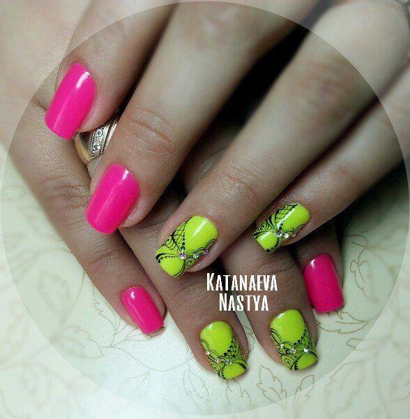 Nastya Katanaeva's photos | Pintura de uñas, Uñas