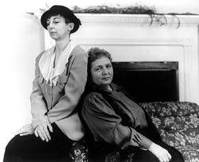 Alice B Toklas And Gertrude Stein At Home Alice Is