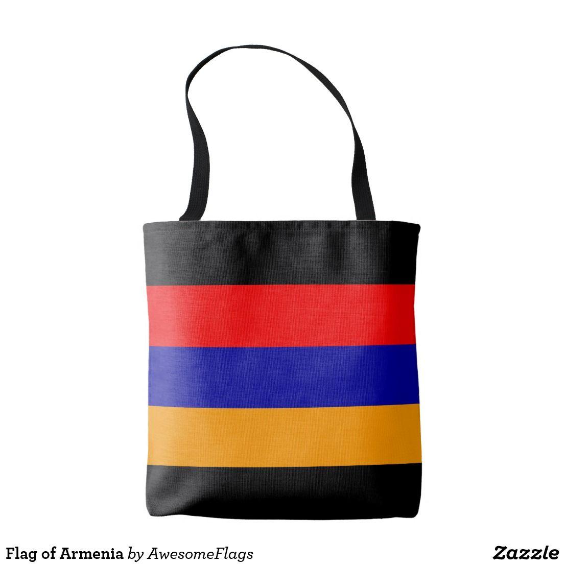 69dedaf707d6b8 Tote Bag Drapeau de l'Arménie | Zazzle.fr | Tote bags populaires ...