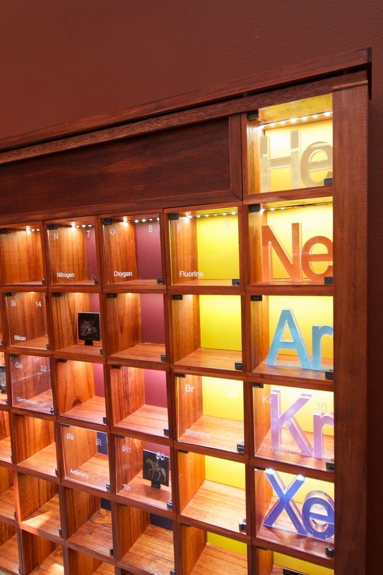 Why i built a wooden periodic table in my spare time periodic