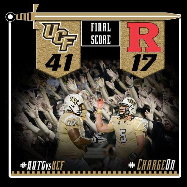 Final Score Graphic Rutgers Vs Ucf Ucf Scores Graphic