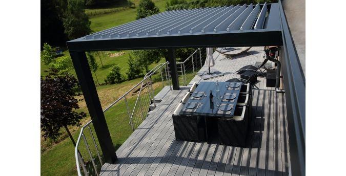 Luciole<sup>®</sup> Pergola | Installux Aluminium | jardin et bbq ...
