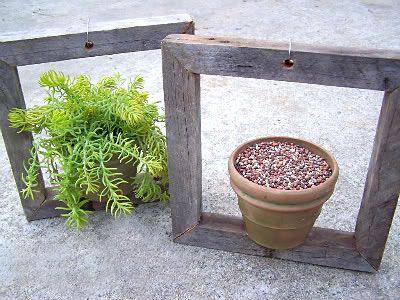 Pronto, seus vasos estão emoldurados e vão dar um toque especial ao seu jardim