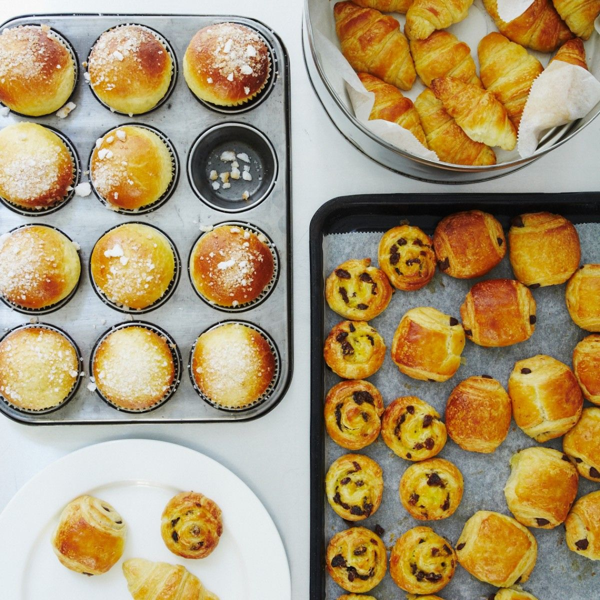 Learn to make croissants on our French Breakfast Pastries