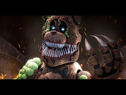 the scariest fnaf monster five nights at freddy s animation