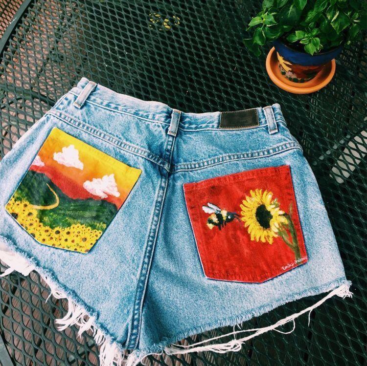 VSCO - girlzlife | art in 2019 | Diy clothes, Painted