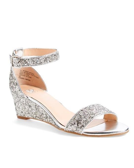 50 Best Shoes For A Bride To Wear Summer Wedding Martha Weddings Bridesmaid Wedgessilver