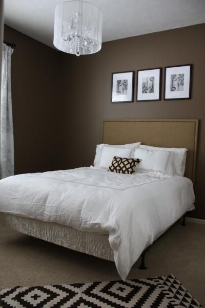 I 39 m thinking of this color for my bedroom with cream for Brown and cream bedroom ideas