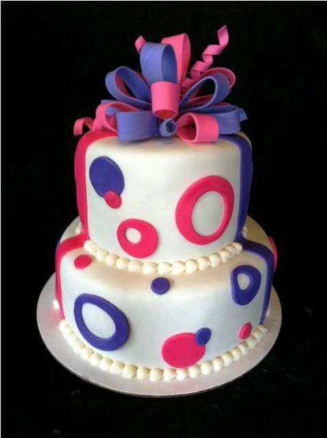 Girls Womens Birthday Cake Made to Order Noosa Sunshine Coast