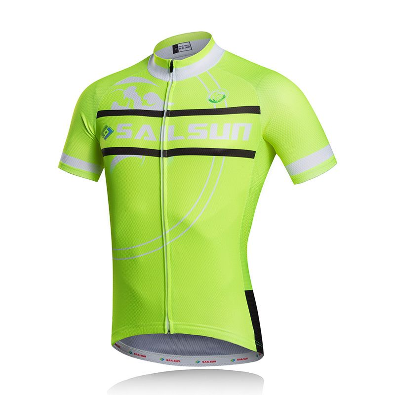 Hot SAIL SUN Men Pro Cycling Jersey Top Light Green mtb Bike Bicycle  Clothing Ropa Ciclismo d6b2111d8