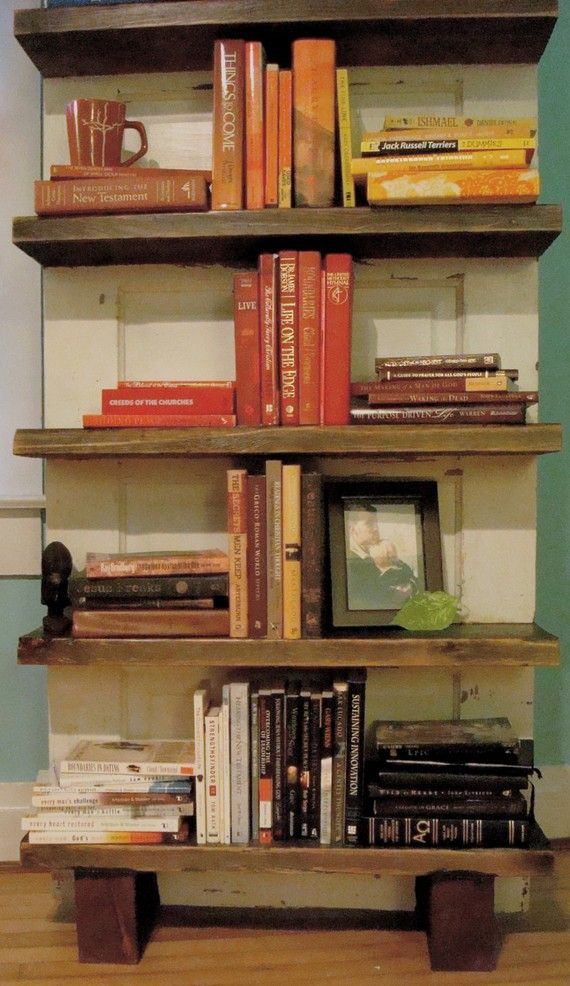Hannah Antique Door Bookshelf FREE SHIPPING By Woodbirddesign 45000