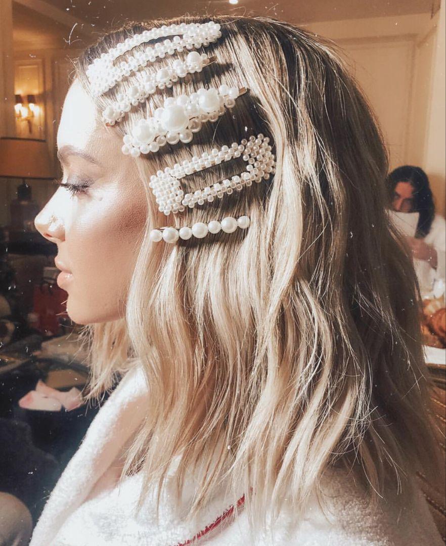 Barrettes Hair Accessories Inspiration Hair Clips Hair Accessories Hair Scarf Styles