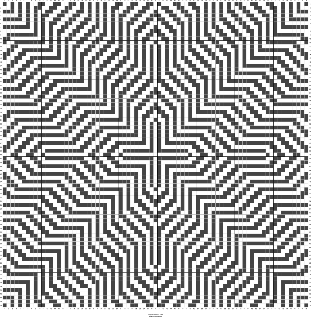 Optical Illusion 2 Cross Stitch Pattern Maker Cross