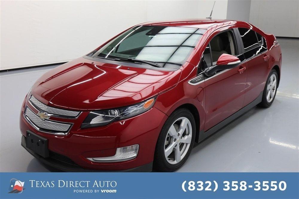For Sale 2014 Chevrolet Volt Premium Texas Direct Auto 2014