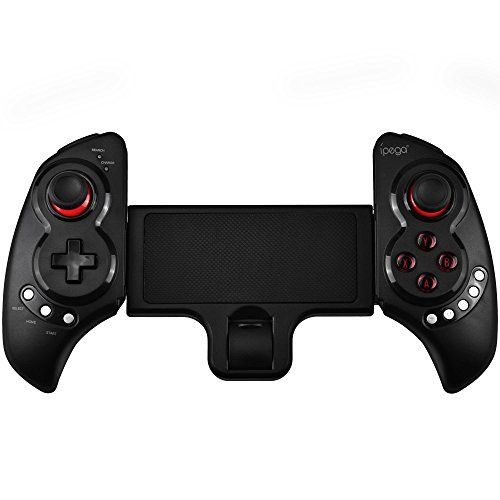 nice IPEGA PG-9023 Telescopic Wireless Bluetooth Game Controller Gamepad for iPhone iPod iPad iOS System, Samsung Galaxy Note HTC LG Android Tablet PC