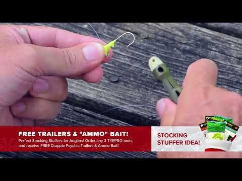 TYEPRO Tying Tool: Special Christmas Offer! Free Trailers! - (More info on: https://1-W-W.COM/fishing/tyepro-tying-tool-special-christmas-offer-free-trailers/)