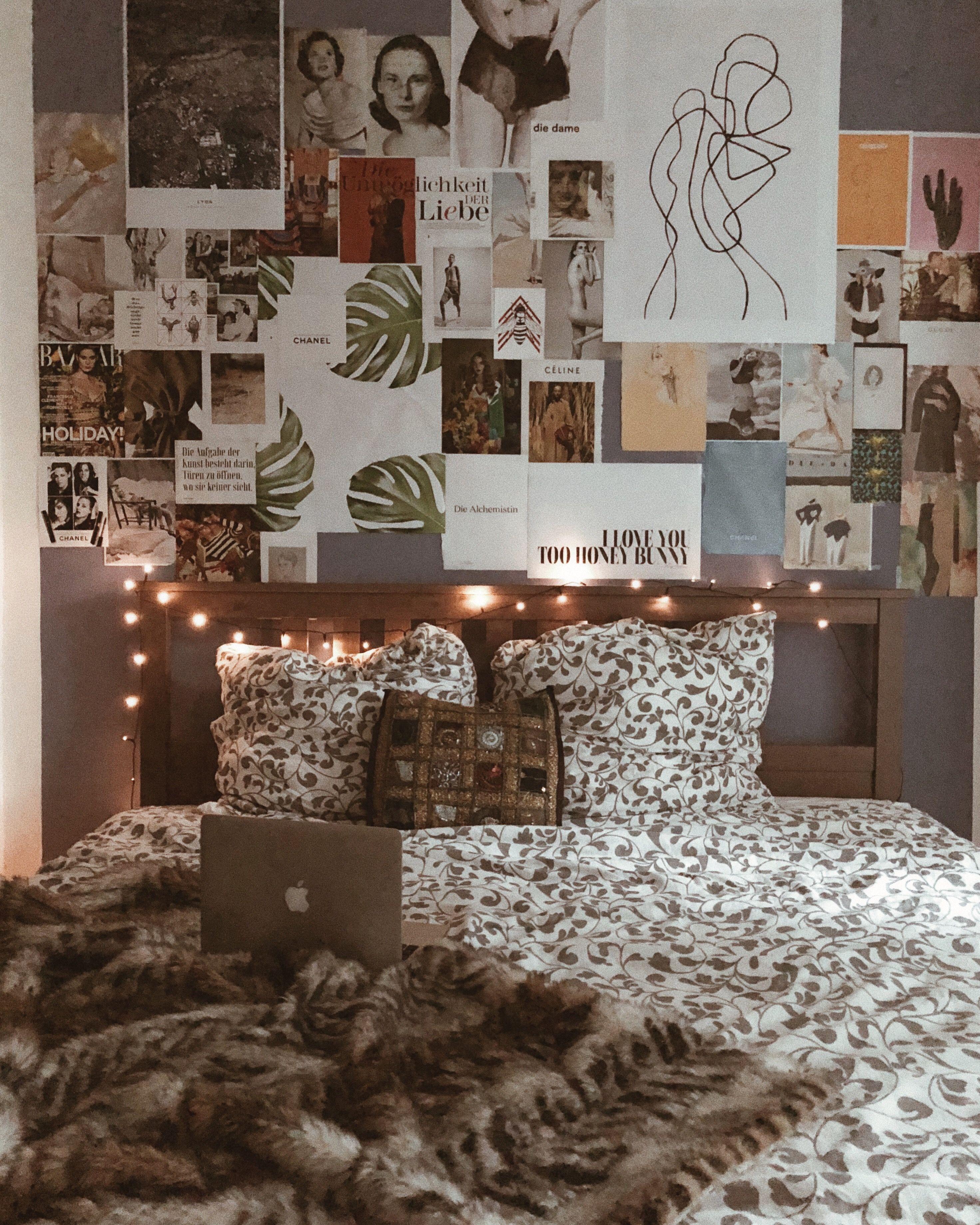 Posterwand selber machen, DIY Bilderwand, Posterwall