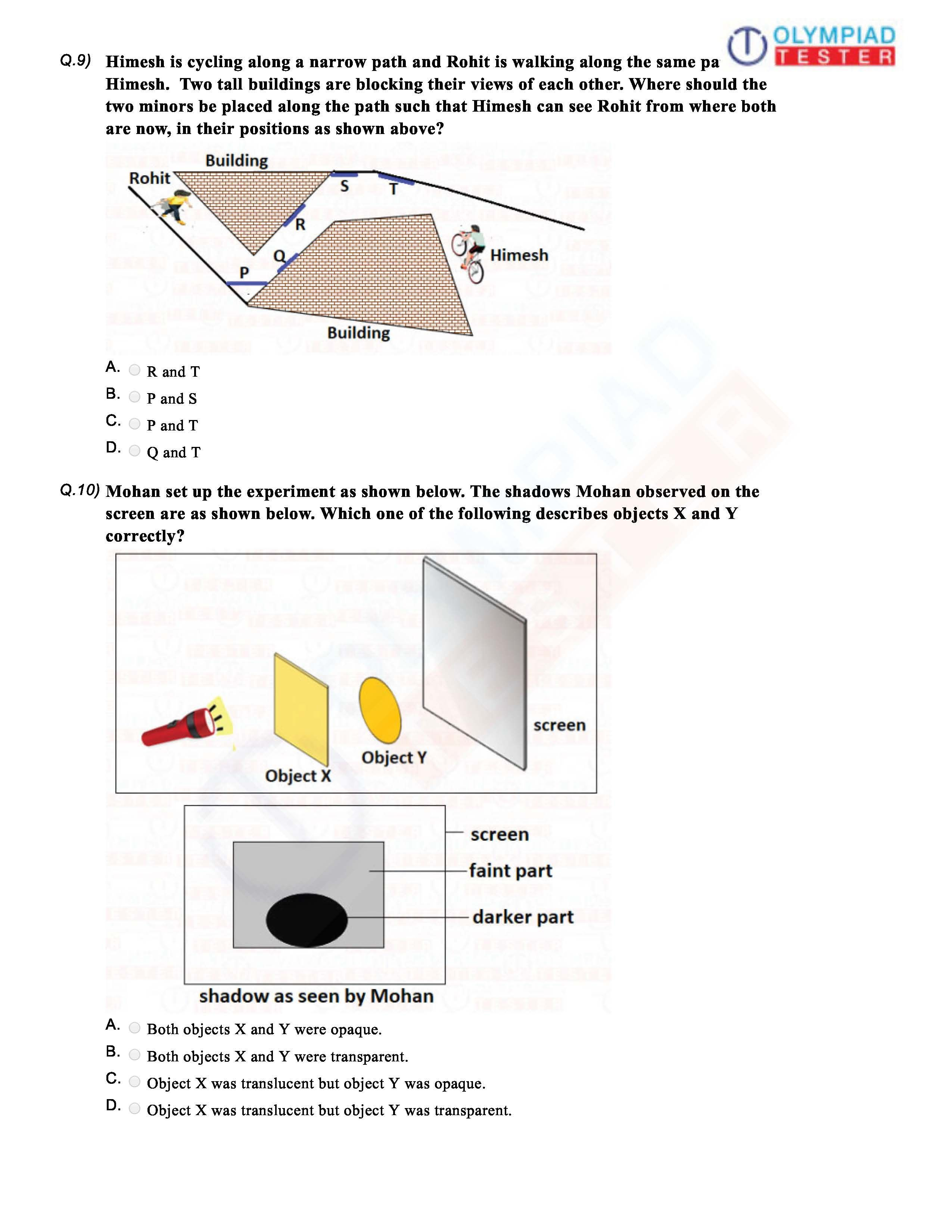 medium resolution of Class 6 Science Light