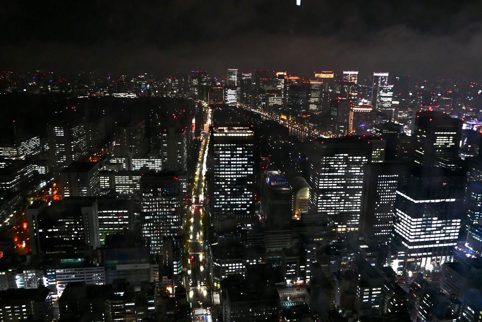 「時空トラベラー」 The Time Traveler's Photo Essay : 東京の夜景 Night Skyline of Tokyo