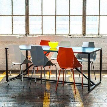 Blue Dot Design Strut Table Large Black Table Design Furniture