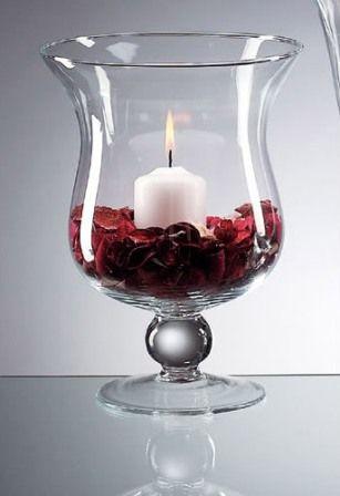 Wedding Table Centerpieces Candles Hurricane Hurricane Vases