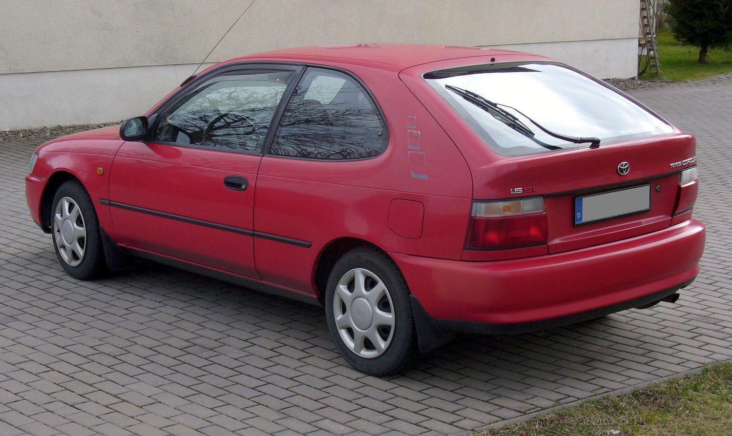 Wow  Toyota Corolla (E100) - 1 6 Si Heck 3-door Euro