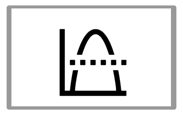 Bell Curve Icon Bell Curve Icon Android Icons