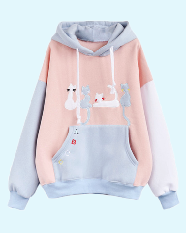 d09f13a14 cat hoodies | a t t i r e | Kawaii clothes, Kawaii hoodie, Clothes