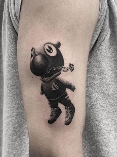 Pin By Nehalllll On 1 In 2020 Fan Tattoo Kanye West Tattoo Tattoos