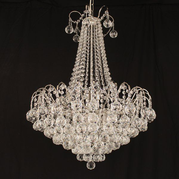 Youll love the emmie 9 light crystal chandelier at wayfair co uk