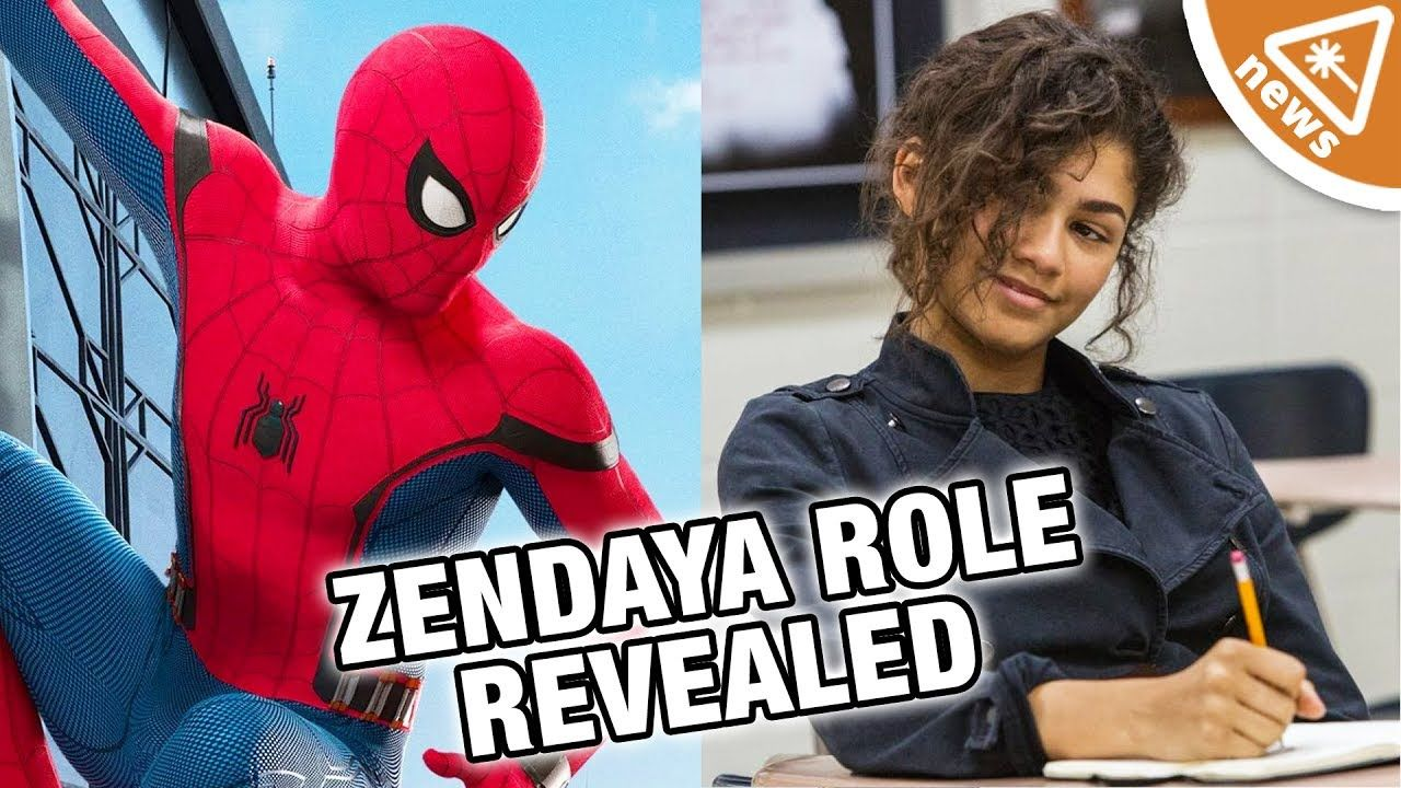 Zendaya's SPOILER Spider-Man Homecoming Role Finally Revealed! (Nerdist ...