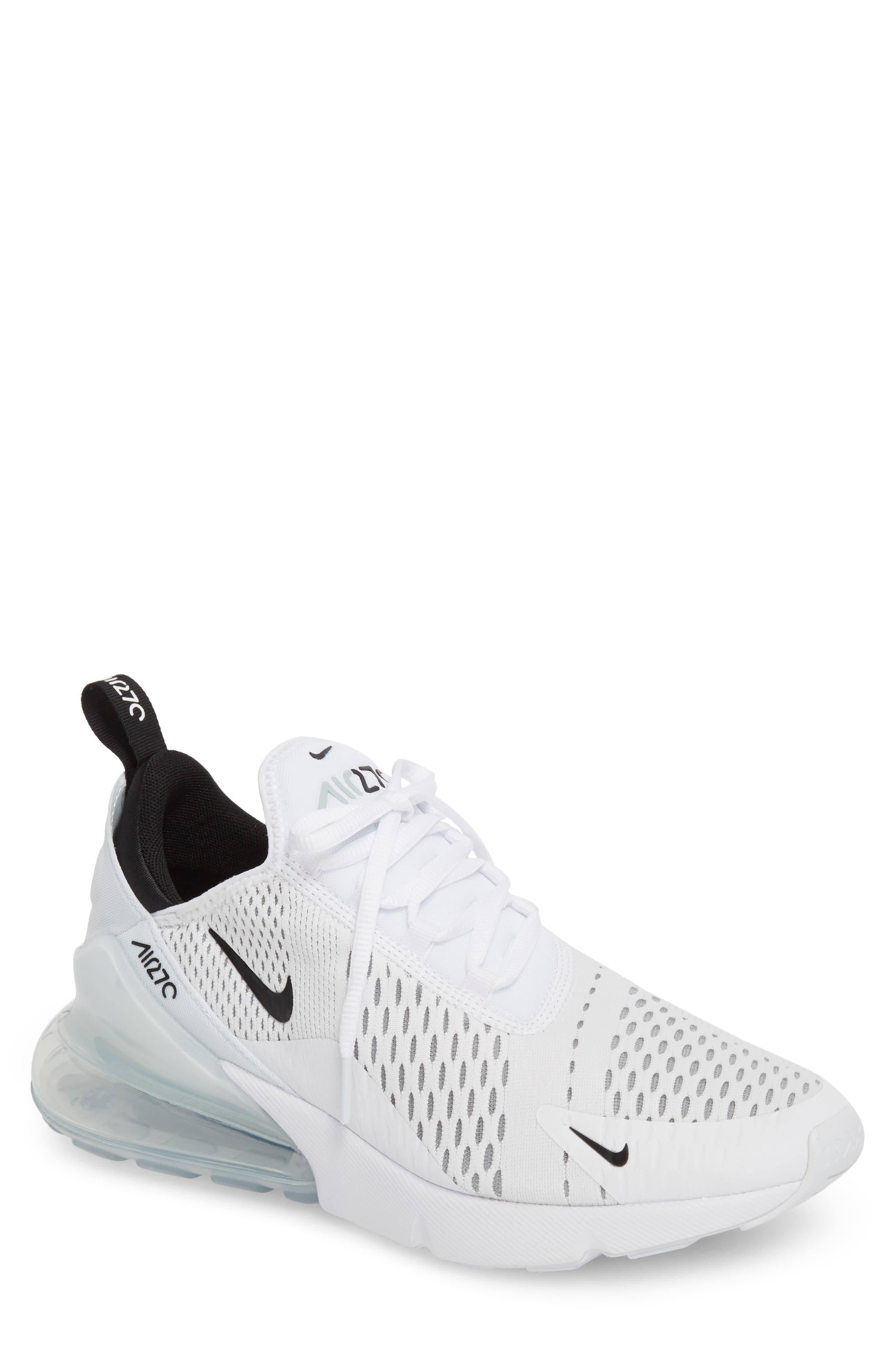 Men's Nike Air Max 270 Sneaker, Size 14 M - White   Sneakers ...