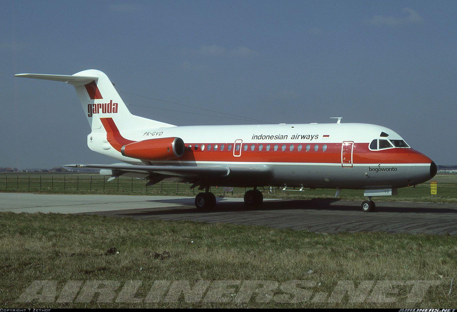 Pesawat vintage Garuda Indonesia | Sumber: Pinterest