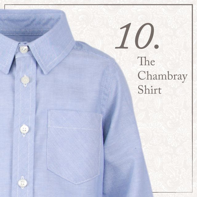 AW14 | Classic Chambray Shirt | Old Brown Collection