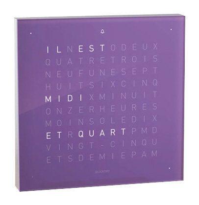 Biegertu0026Funk Qlocktwo Touch   Französisch   Wecker   Violett Jetzt  Bestellen Unter: Https://moebel.ladendirekt.de/dekoration /uhren/wecker/?uidu003d2cd8u2026