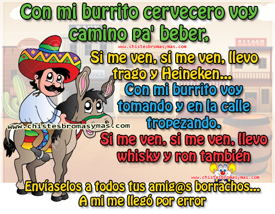 Chistes Graficos El Burrito Cervecero Funny Quotes Funny Phrases Christmas Humor