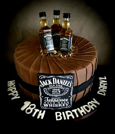 Jack Daniels birthday cake in 2020 | Birthday cakes for ...