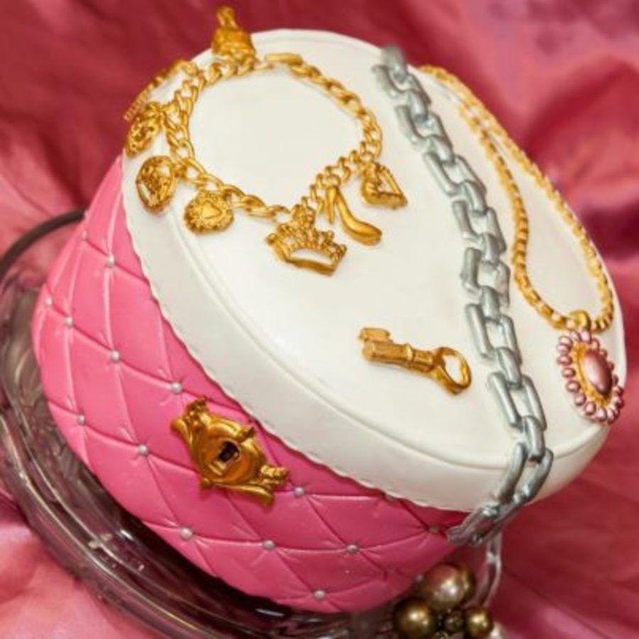 Jewelry box cake with images box cake jewel cake