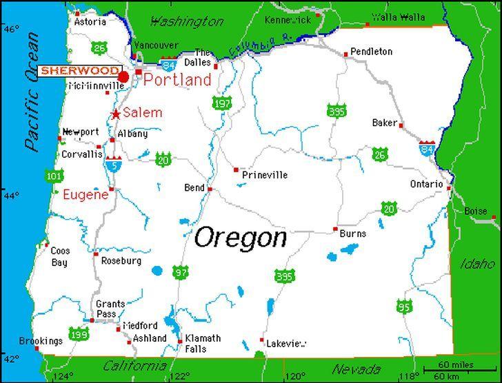 willamette valley oregon map | Destination Reviews | Top Review