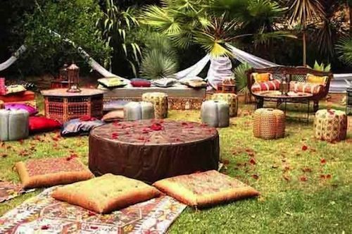 Outdoor Mehndi Party : Easy ideas for a last minute summer party outdoor parties