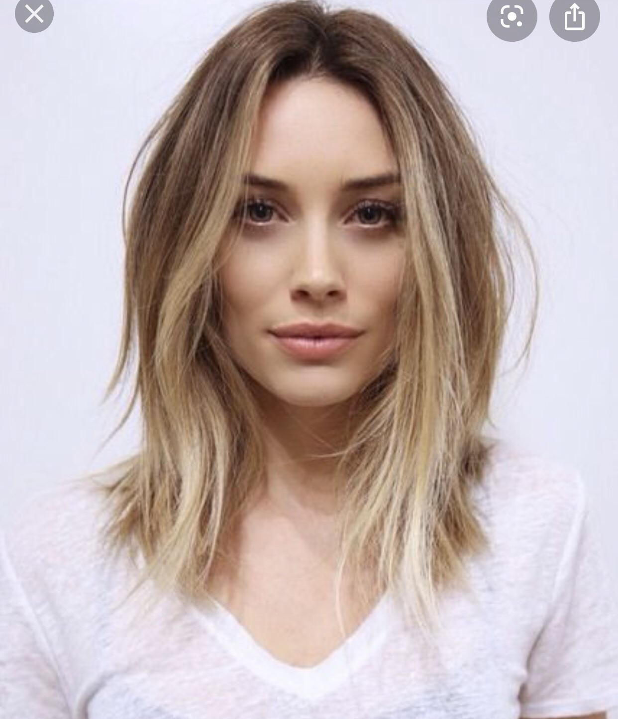 Would this haircut be annoying My hair is straight thick fine and ...