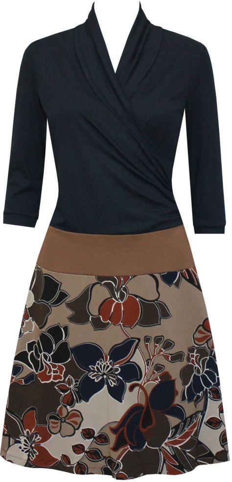 Herbstkleid Yara | Nähideen | Pinterest | Nähen, Nähideen und ...